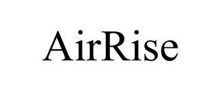 mark for AIRRISE, trademark #87693279