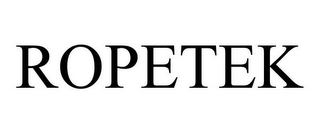mark for ROPETEK, trademark #87695082