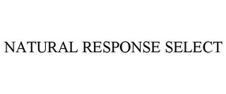 mark for NATURAL RESPONSE SELECT, trademark #87708094