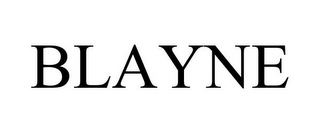 mark for BLAYNE, trademark #87731640