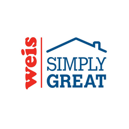 mark for WEIS SIMPLY GREAT, trademark #87739903