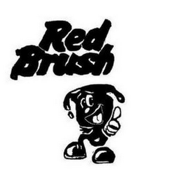 mark for RED BRUSH, trademark #87743101