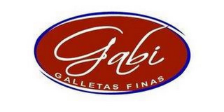 mark for GABI GALLETAS FINAS, trademark #87743145