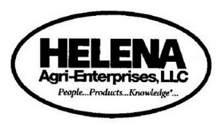 mark for HELENA AGRI-ENTERPRISES, LLC PEOPLE PRODUCTS KNOWLEDGE, trademark #87743541