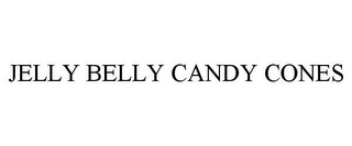 mark for JELLY BELLY CANDY CONES, trademark #87750499
