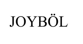 mark for JOYBÖL, trademark #87755039