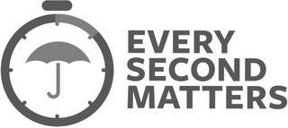 mark for EVERY SECOND MATTERS, trademark #87756484
