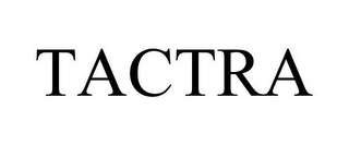 mark for TACTRA, trademark #87762808