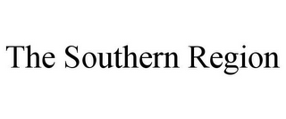 mark for THE SOUTHERN REGION, trademark #87774518