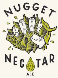 mark for NUGGET NECTAR ALE ONCE A YEAR, trademark #87777544