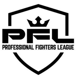 mark for PFL PROFESSIONAL FIGHTERS LEAGUE, trademark #87778287