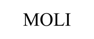 mark for MOLI, trademark #87778349