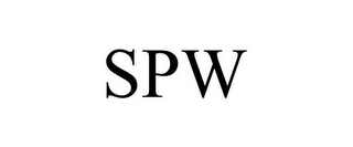 mark for SPW, trademark #87778358