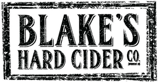 mark for BLAKE'S HARD CIDER CO., trademark #87780327
