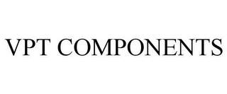 mark for VPT COMPONENTS, trademark #87781664
