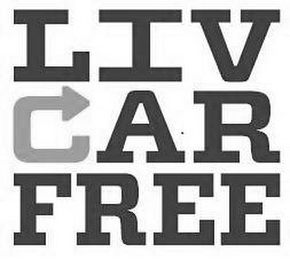 mark for LIV CAR FREE, trademark #87782216
