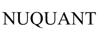 mark for NUQUANT, trademark #87782383