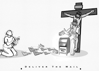 mark for GOSPEL MAIL · DELIVER THE MAIL ·, trademark #87783860
