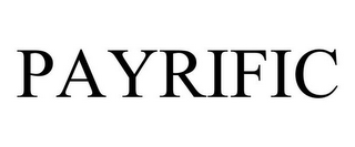 mark for PAYRIFIC, trademark #87785866