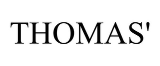 mark for THOMAS', trademark #87786054
