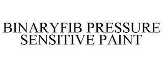 mark for BINARY FIB PRESSURE SENSITIVE PAINT, trademark #87788167