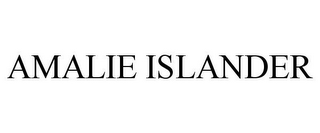 mark for AMALIE ISLANDER, trademark #87792705