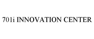 mark for 701I INNOVATION CENTER, trademark #87797891