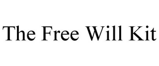 mark for THE FREE WILL KIT, trademark #87802462