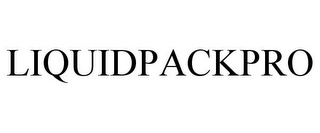 mark for LIQUIDPACKPRO, trademark #87803089
