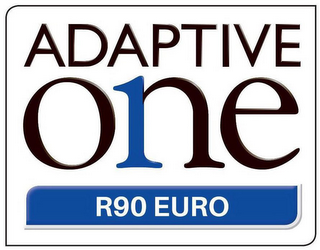 mark for ADAPTIVE ONE R90 EURO, trademark #87804180