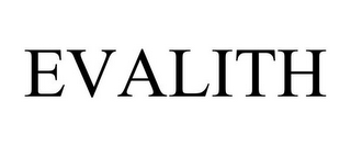 mark for EVALITH, trademark #87806946
