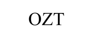 mark for OZT, trademark #87807565