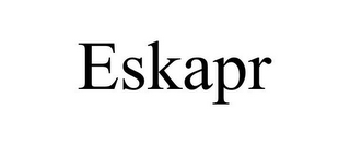 mark for ESKAPR, trademark #87808343