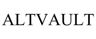 mark for ALTVAULT, trademark #87808681