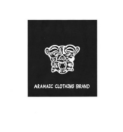 mark for ARAMAIC CLOTHING BRAND, trademark #87810346