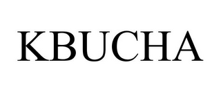 mark for KBUCHA, trademark #87810525