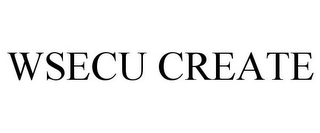 mark for WSECU CREATE, trademark #87810627