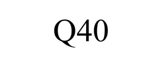 mark for Q40, trademark #87810686