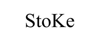 mark for STOKE, trademark #87810960