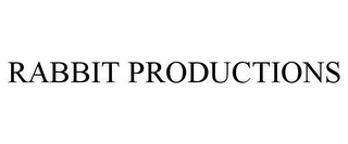 mark for RABBIT PRODUCTIONS, trademark #87811753