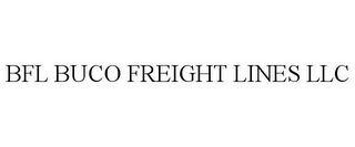 mark for BFL BUCO FREIGHT LINES LLC, trademark #87811806