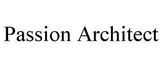 mark for PASSION ARCHITECT, trademark #87811897