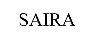 mark for SAIRA, trademark #87812488