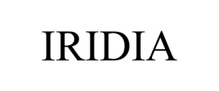 mark for IRIDIA, trademark #87812942