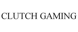 mark for CLUTCH GAMING, trademark #87813163