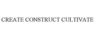 mark for CREATE CONSTRUCT CULTIVATE, trademark #87813206
