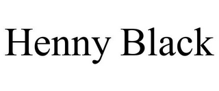 mark for HENNY BLACK, trademark #87813286