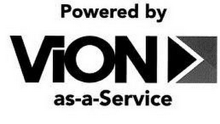 mark for POWERED BY VION AS-A-SERVICE, trademark #87813433