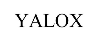 mark for YALOX, trademark #87813837