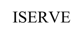 mark for ISERVE, trademark #87815961